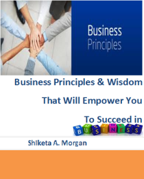 Business Priniples eBook Cover